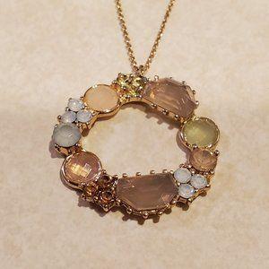 LOFT Jeweled Pendant Necklace